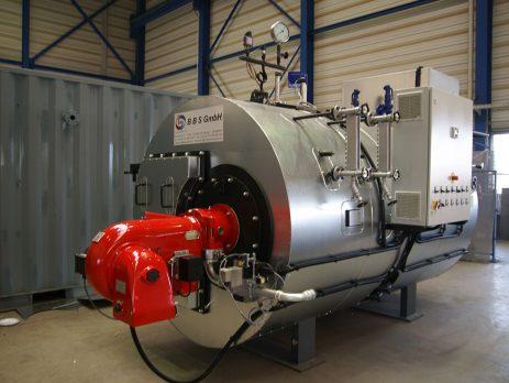 High pressure steam boiler - BBS GmbH