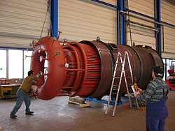 Natural circulation high pressure steam boilers - BBS GmbH