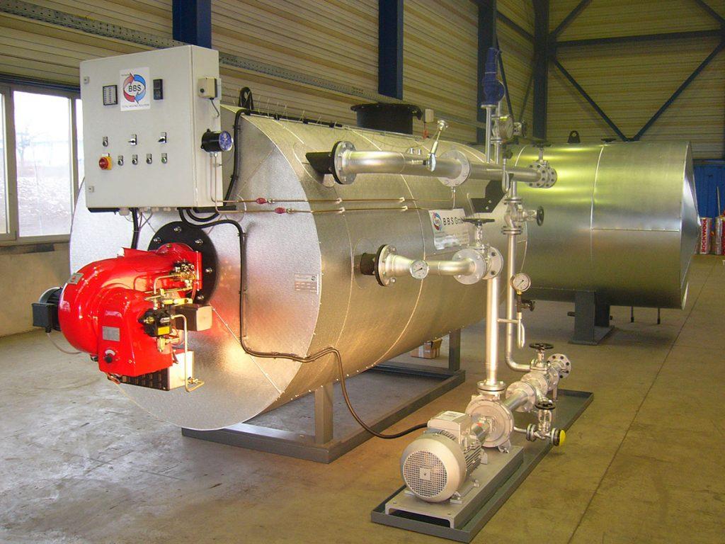 Wasserrohrkessel Heißwasserkessel - BBS GmbH