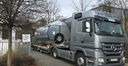 Steam boiler HDK Kasan